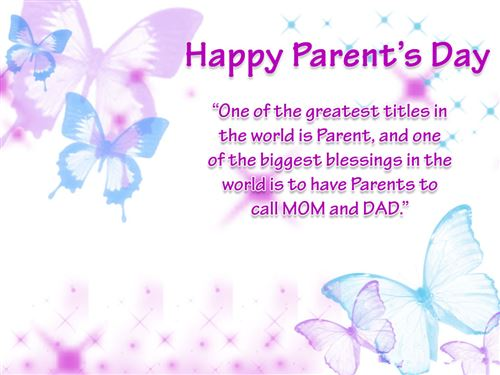 Famous Parents Day Quotes For Facebook