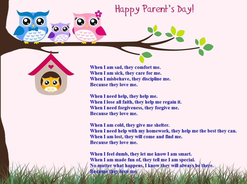 Meaningful Parents Day Poems From Daughter