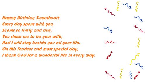 Best Happy Birthday Poems For Husbands