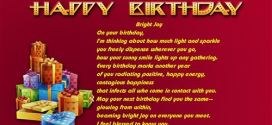 Famous Happy Birthday Poems For Grandparents