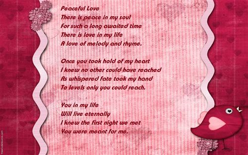 Free Short Beautiful Love Poems For Her
