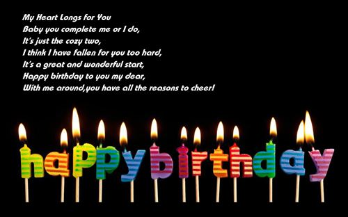 Meaning Happy Birthday Poems For Girlfriends