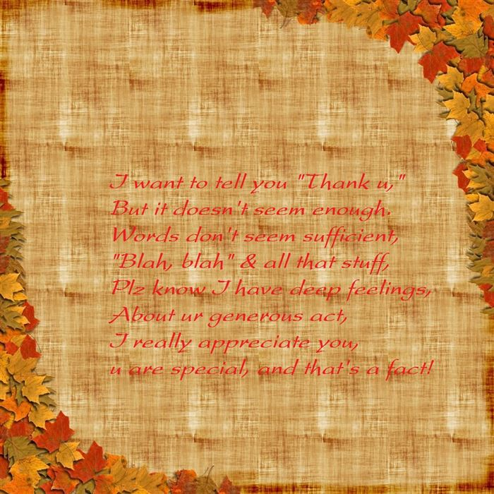Best Funny Thanksgiving Poems For Teachers
