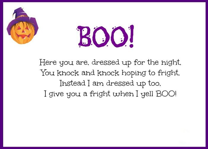 Best Halloween Poems For Kindergarten