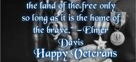 Best Inspirational Quote For Veterans Day