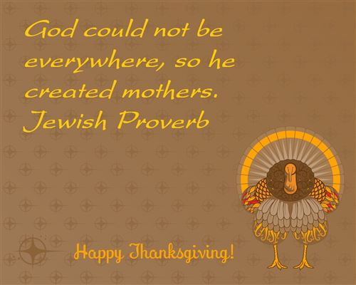 Best Thanksgiving Card Sayings For Mom