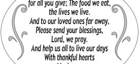 Best Thanksgiving Dinner Prayers For Kids