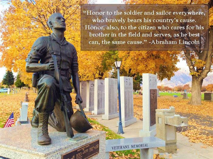Best Veterans Day Quotes Of Abraham Lincoln