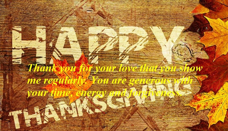 Famous Happy Thanksgiving Quotes For Boyfriends
