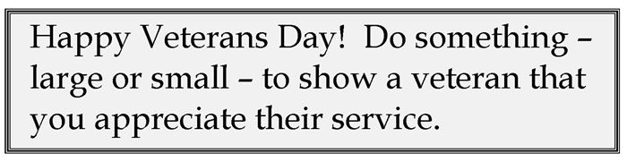 Famous Military Quotes For Veterans Day