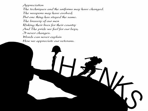 Ideal Military Poems For Veterans Day