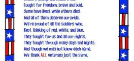 Meaningful Poems For Veterans Day On Heroes