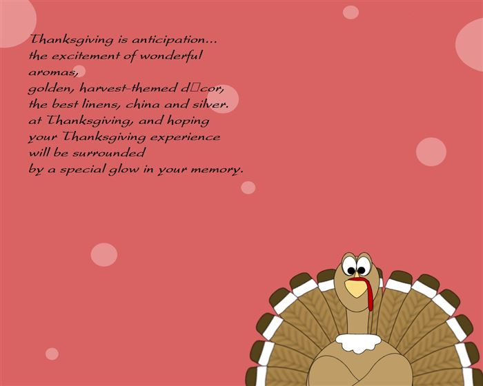 Short Thanksgiving Poems For Toddlers