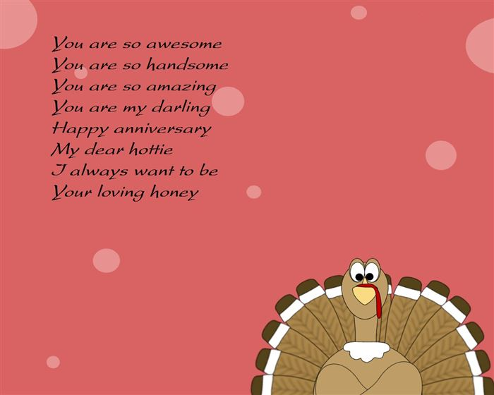 Top Free Thanksgiving Poems For Husbands