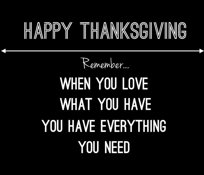 Top Thanksgiving Day Quotes About Love
