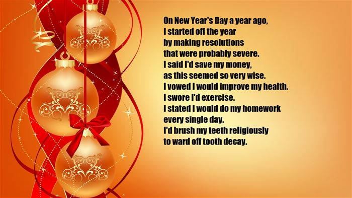 Free Funny Happy New Year Poems For Friends