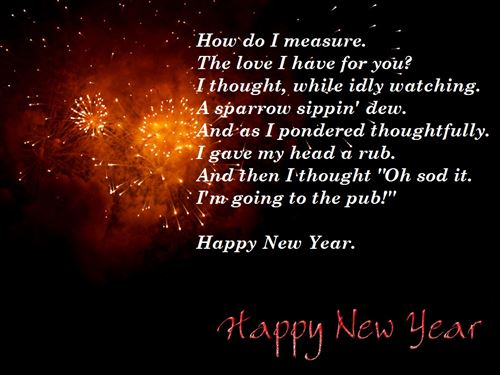 Best Happy New Year Poems For Boyfriends