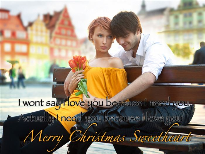 Cute Christmas Card Messages For Boyfriends
