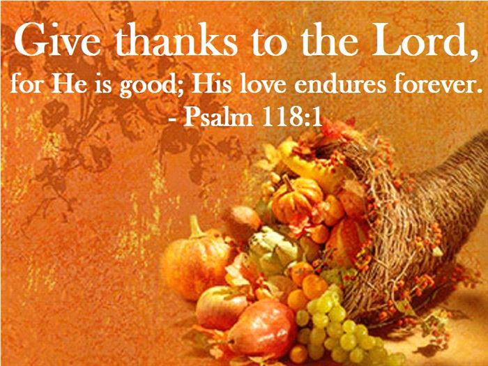 Famous Christian Thanksgiving Dinner Prayer