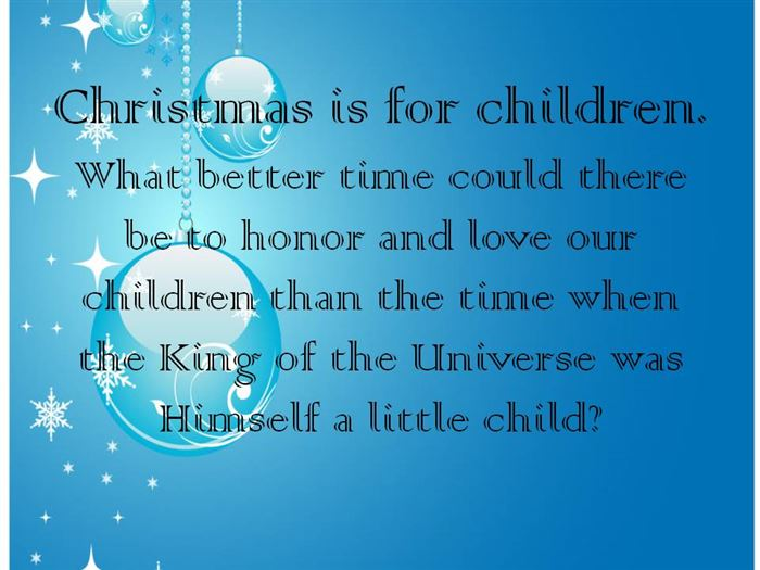 Famous Christmas Quotes For Children