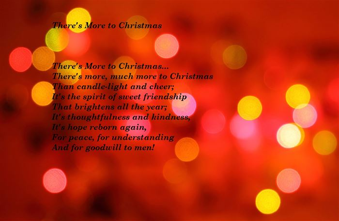Famous Short Christmas Poems For Kids To Recite
