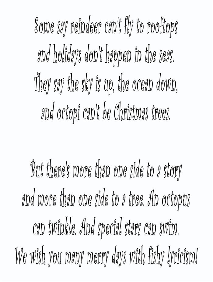 Free Funny Christmas Poems For Adults