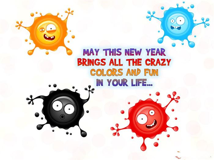 Free Funny Happy New Year Greetings Message