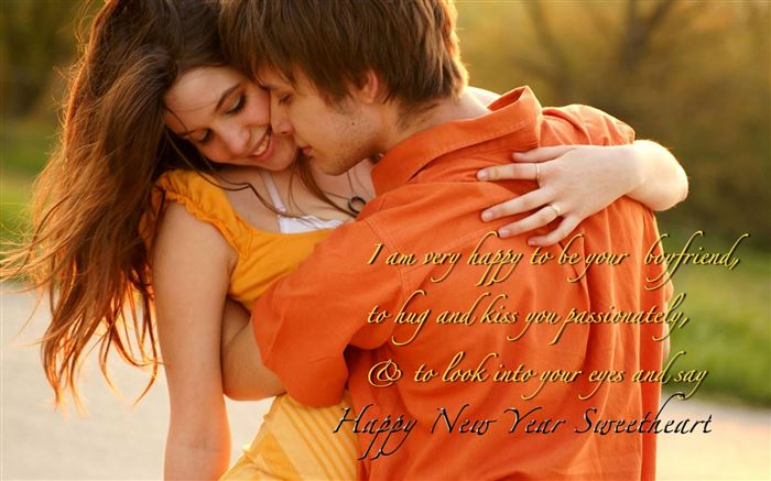 Lovely Happy New Year Wishes Messages For Girlfriends