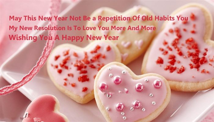 Cute Happy New Year Wishes Messages For Girlfriends