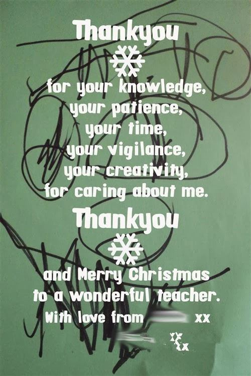 Meaningful Christmas Messages For Teachers