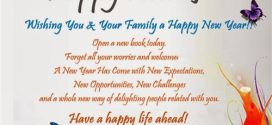 Meaningful Happy New Year And Best Wishes For Family