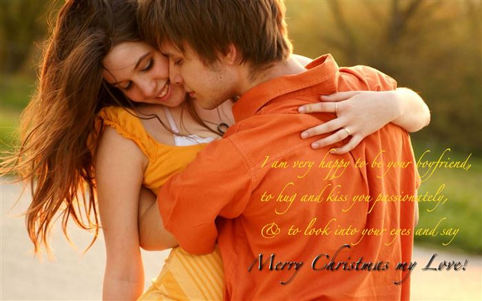 Romantic Christmas Card Messages For Girlfriends