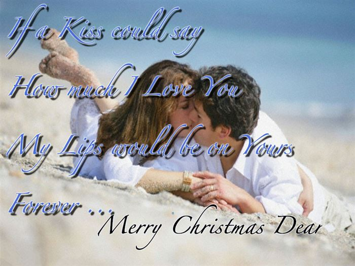 Romantic Christmas Wishes Messages For Boyfriends