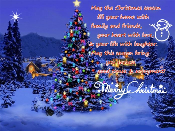 Top Merry Christmas Greeting Messages Sample