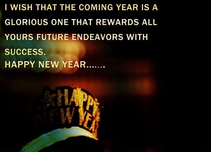 Unique Happy New Year Greeting Card Quotes