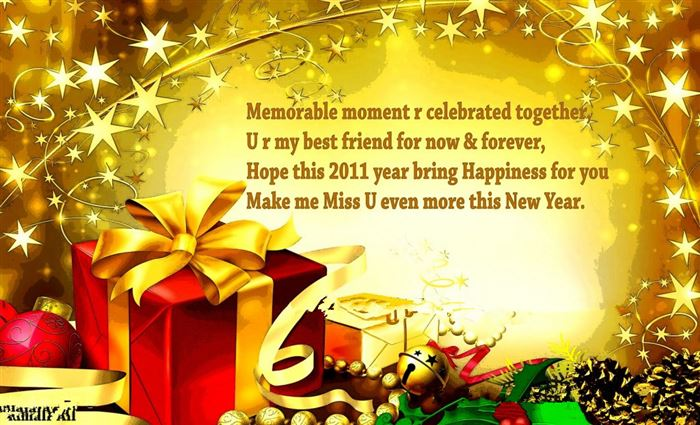 Meaningful Happy New Year Greeting Card Quotes