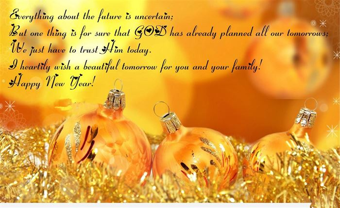 Beautiful Happy New Year Wallpapers With Quotes