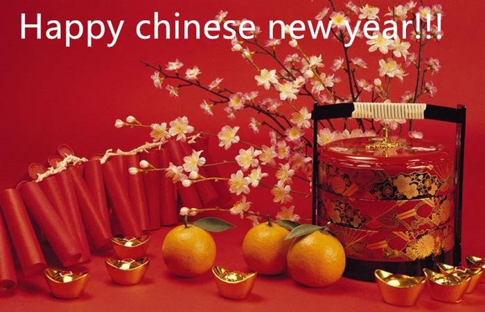 Simple Chinese New Year Greetings Words In English