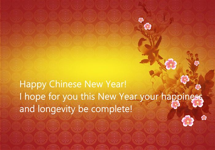 Unique Chinese New Year Wishes Messages In English