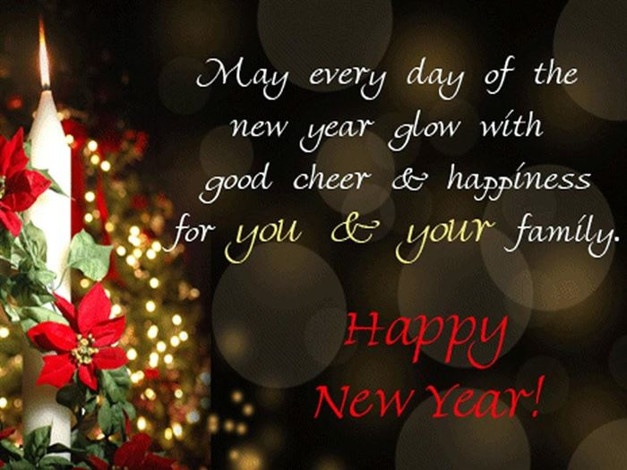 Best Happy New Year Greeting Card Messages