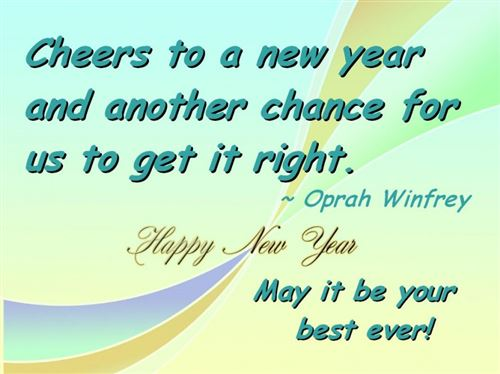 Best Free Happy New Year Quotes And Sayings