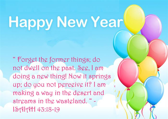 Best Free Christian Happy New Year Wishes