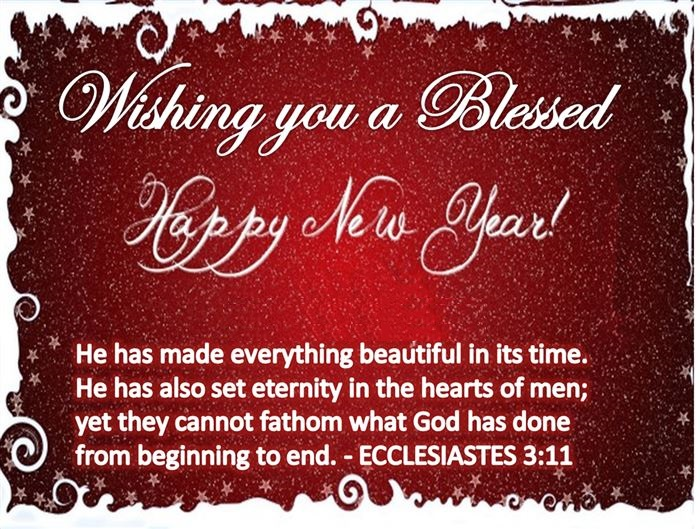 Best Meaning Christian Happy New Year Wishes