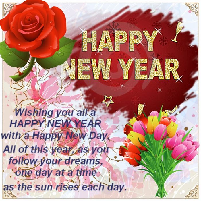 Best Wish You Happy New Year Message