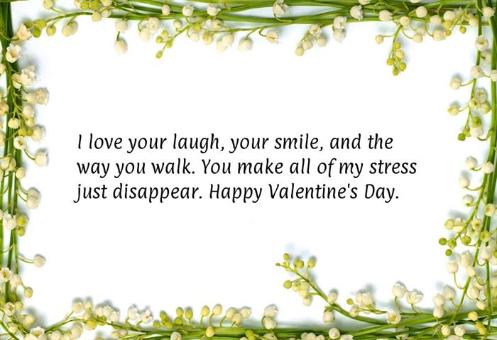 Romantic Happy Valentine's Day Messages For Boyfriends