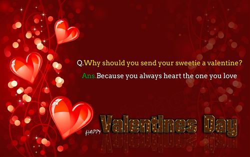 Lovely Happy Valentine's Day Wishes Sms