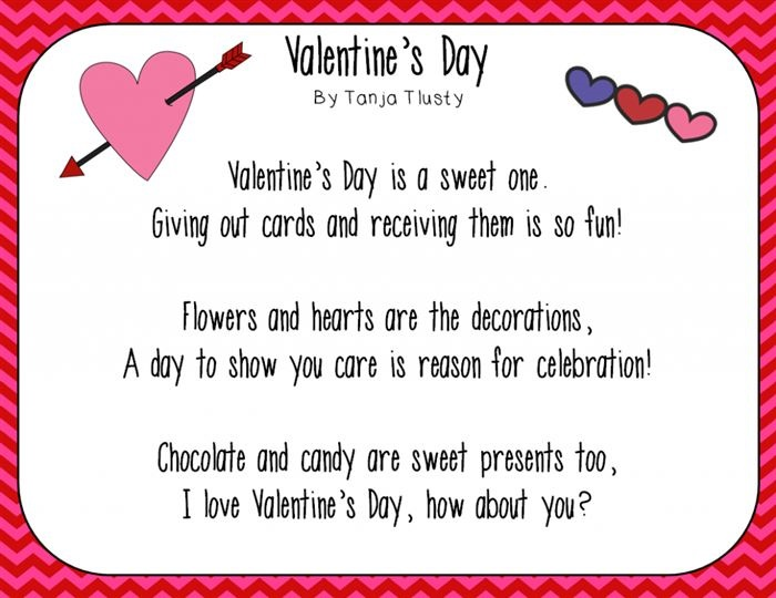 Romantic Happy Valentine's Day Love Poems For Girlfriends