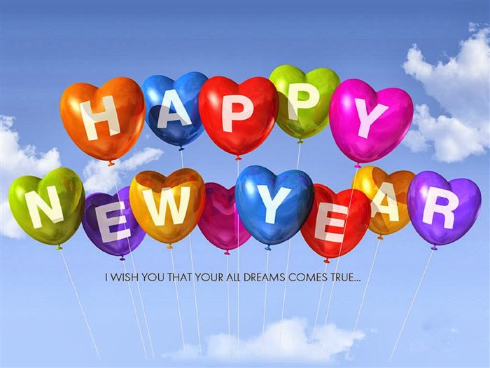 Free Happy New Year Greeting Message Example