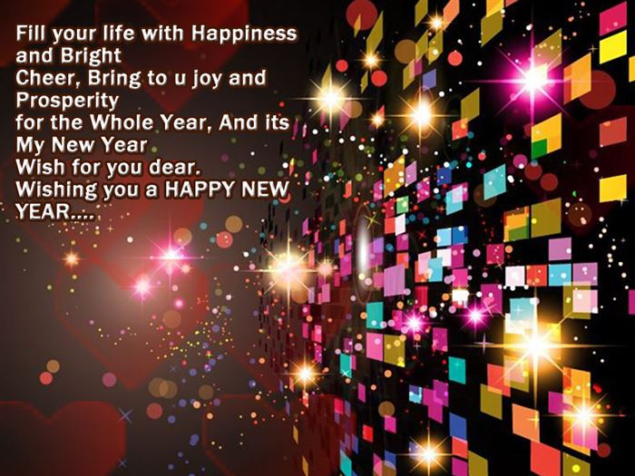 Free Happy New Year Greeting Messages With Images