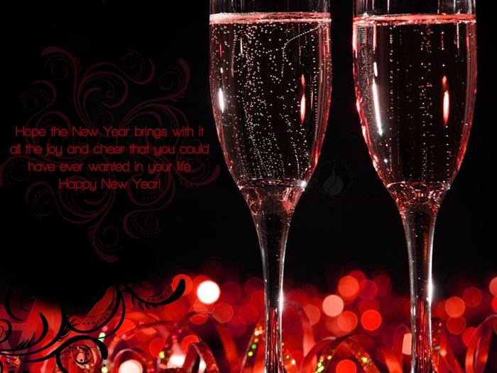Free Happy New Year Greeting Messages With Beautiful Images